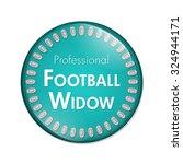 professional football widow...   Shutterstock . vector #324944171