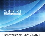 blue abstract background | Shutterstock .eps vector #324946871