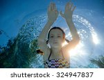 Blurred View From Under Water ...