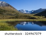 mountain lake | Shutterstock . vector #324967079