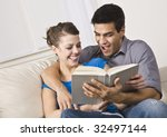 attractive multi ethnic couple... | Shutterstock . vector #32497144