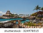 Caribbean Landscape Near Cancu...