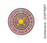 gambling casino roulette wheel... | Shutterstock . vector #324979007