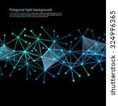 polygonal light background....   Shutterstock .eps vector #324996365