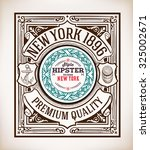 nautical card | Shutterstock .eps vector #325002671