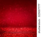 Defocused Abstract Red Lights...