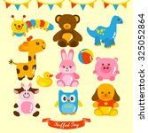 plush toy vector design... | Shutterstock .eps vector #325052864