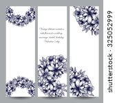 floral banners | Shutterstock .eps vector #325052999
