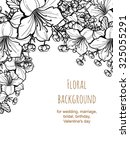 romantic invitation. wedding ... | Shutterstock .eps vector #325055291
