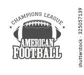 american football champions... | Shutterstock .eps vector #325057139