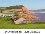Постер, плакат: Ladram Bay beach Devon