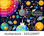 space 3d galaxy new horizons of ... | Shutterstock .eps vector #325120097