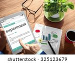 experiment experience digital... | Shutterstock . vector #325123679