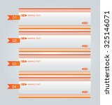 infographic template with step... | Shutterstock .eps vector #325146071