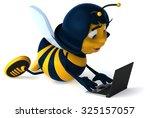 fun bee | Shutterstock . vector #325157057