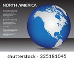North America Globe. Earth...