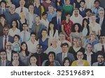 diverse diversity ethnic... | Shutterstock . vector #325196891