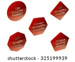 high quality set of sale... | Shutterstock . vector #325199939