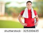 exercising. | Shutterstock . vector #325200635