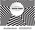 abstract round text box design... | Shutterstock .eps vector #325202915