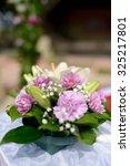 beautiful wedding colorful... | Shutterstock . vector #325217801