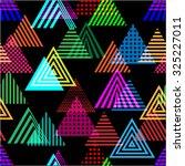 vector seamless pattern.... | Shutterstock .eps vector #325227011