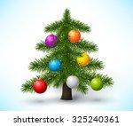christmas tree | Shutterstock .eps vector #325240361
