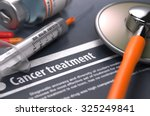 cancer treatment. medical... | Shutterstock . vector #325249841