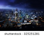 city of london at sunset | Shutterstock . vector #325251281