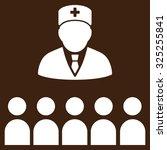 medical class vector icon.... | Shutterstock .eps vector #325255841