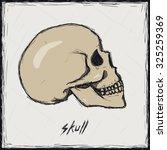 sketch color illustration. sign.... | Shutterstock .eps vector #325259369
