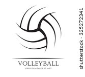 black volleyball ball...