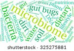 microbiome word cloud on a... | Shutterstock .eps vector #325275881