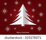 christmas tree  vector...