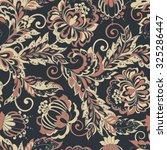 vintage flowers seamless... | Shutterstock .eps vector #325286447