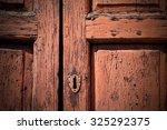 Door In Italy Old Ancian Wood...