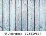 Blue Painted Wooden Desks...