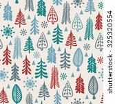 seamless background for winter... | Shutterstock .eps vector #325320554
