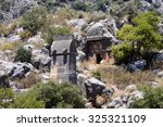 Rock Tombs Of Demre Myra  Turkey