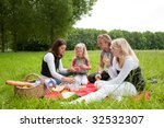 pretty young family on an... | Shutterstock . vector #32532307