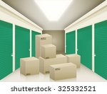vector illustration of storage... | Shutterstock .eps vector #325332521