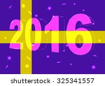 new year 2016 on a background...
