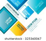abstract business background.... | Shutterstock .eps vector #325360067