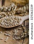 organic seeds  all natural...   Shutterstock . vector #325362239