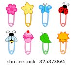 Colorful Safety Pin Collection...