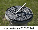 Sundial Showing Four O'clock