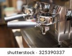 coffee machine in coffee shop | Shutterstock . vector #325390337