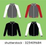 jacket vector template   Shutterstock .eps vector #325409684