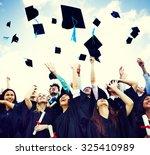 student celebration education... | Shutterstock . vector #325410989