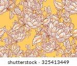 abstract flower background  | Shutterstock .eps vector #325413449